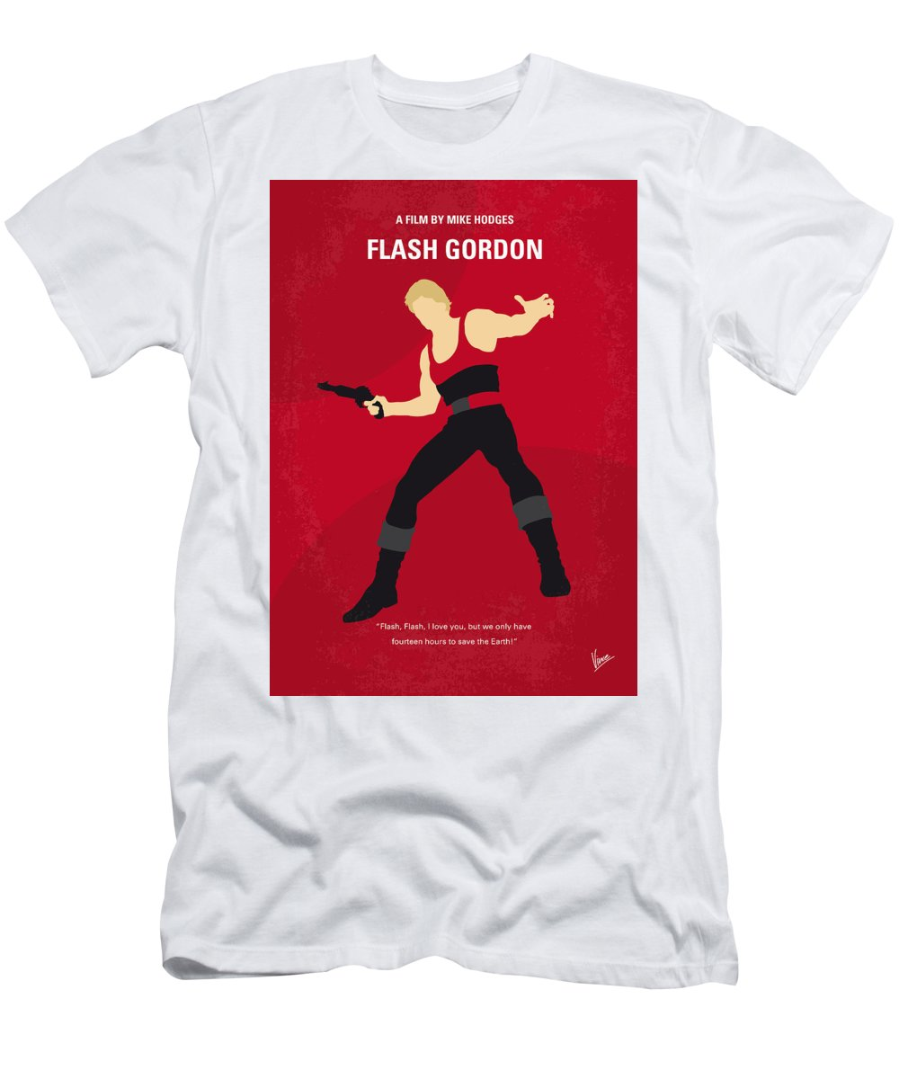 4ccb5f01bbd146 Flash Men s T-Shirt (Athletic Fit) featuring the digital art No632 My Flash