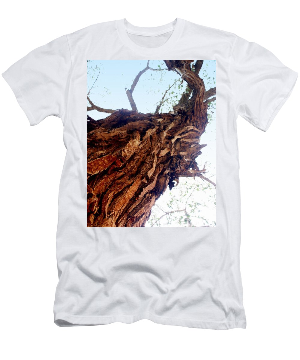 Tree Men's T-Shirt (Athletic Fit) featuring the photograph Old Tree by Marty Koch
