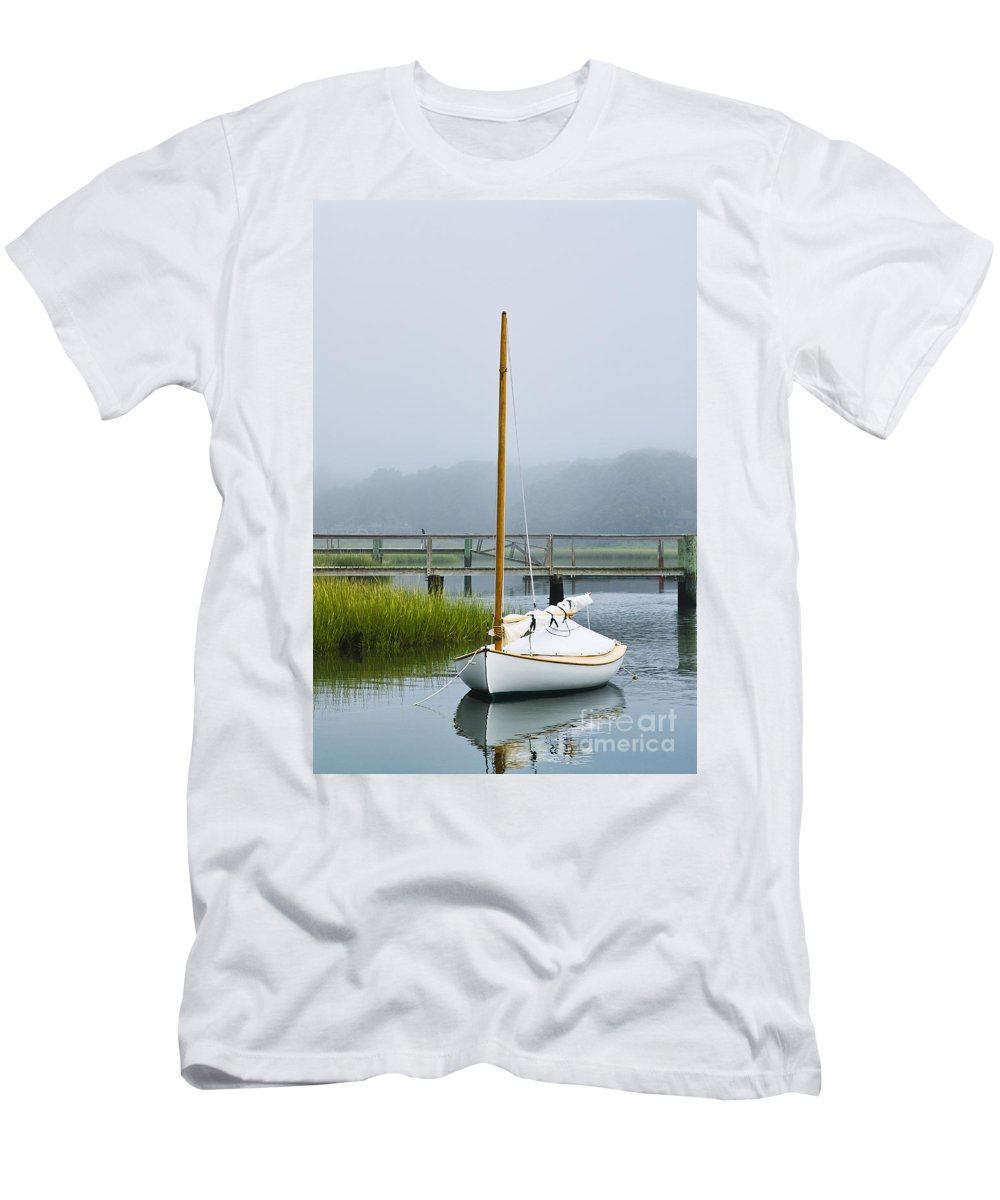 cape Cod T-Shirt featuring the photograph Osterville Sailboat by John Greim