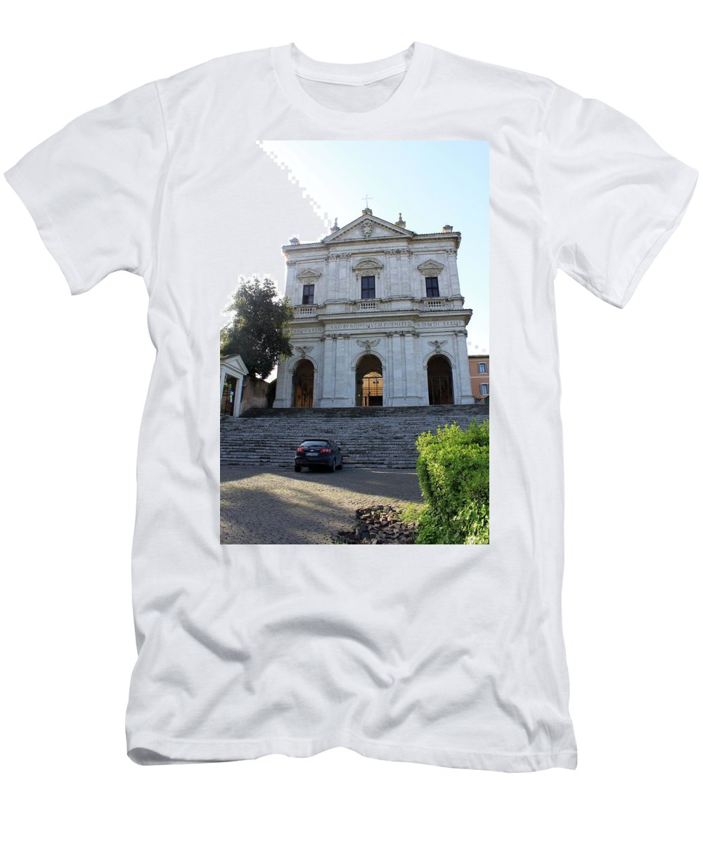 Parking Men's T-Shirt (Athletic Fit) featuring the photograph Parked by Munir Alawi
