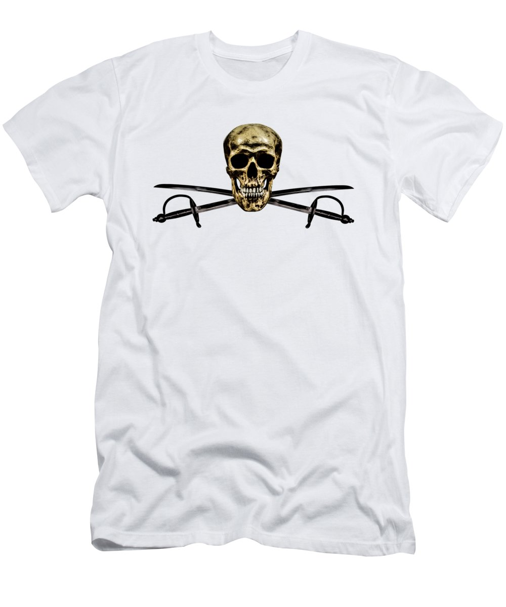Flag Men's T-Shirt (Athletic Fit) featuring the photograph part time buccaneer_partII by Hans Zimmer