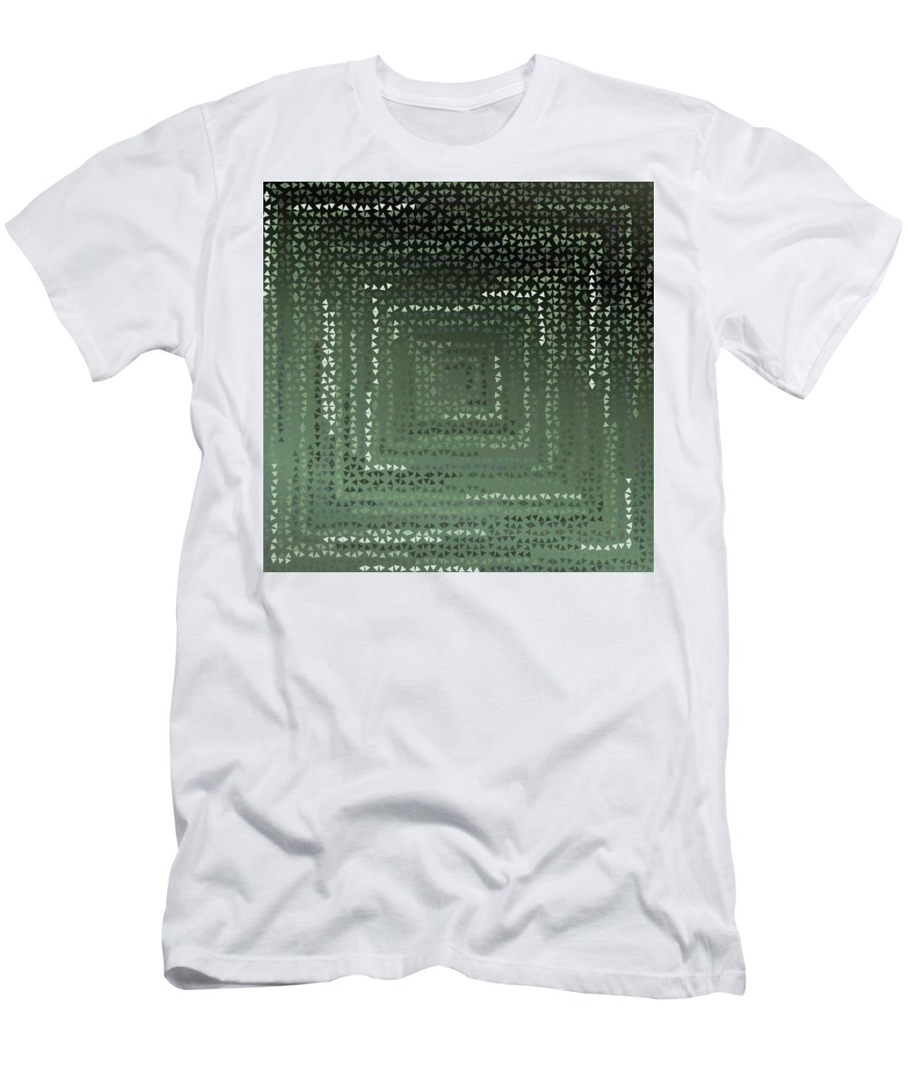 Pattern 64 Men's T-Shirt (Athletic Fit) featuring the digital art Pattern 64 by Marko Sabotin