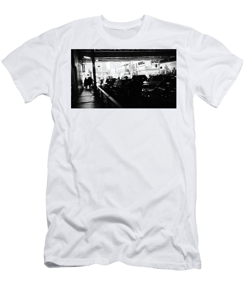 Monochrome Men's T-Shirt (Athletic Fit) featuring the photograph Photo2 by Makoto Nakamura