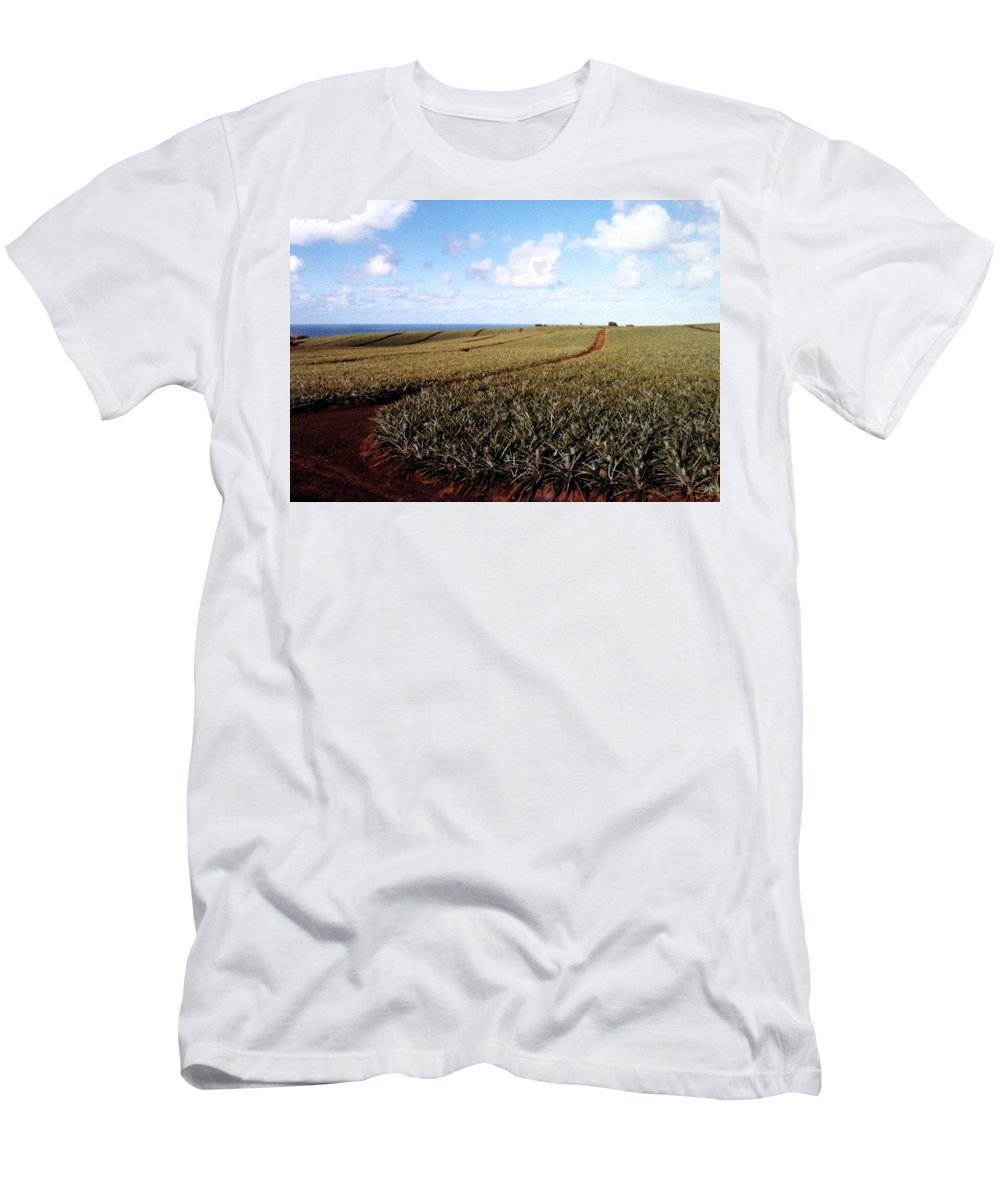 1986 Men's T-Shirt (Athletic Fit) featuring the photograph Pineapple Fields by Will Borden