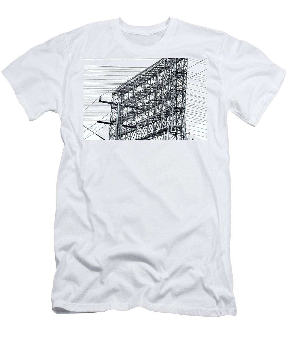 Clay Men's T-Shirt (Athletic Fit) featuring the photograph Power Play by Clayton Bruster