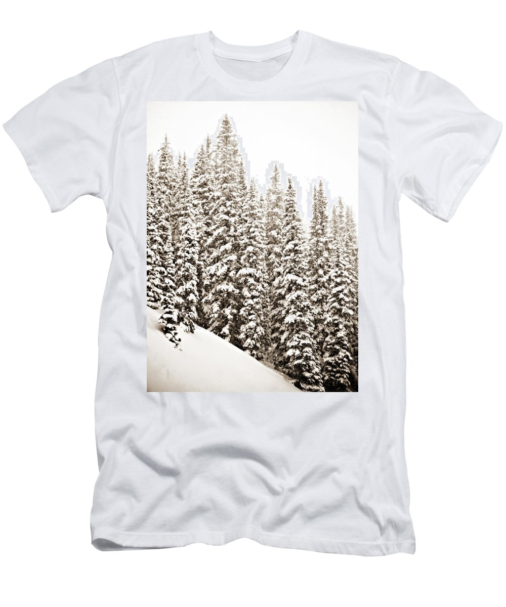 Quiet Men's T-Shirt (Athletic Fit) featuring the photograph Quiet by Marilyn Hunt