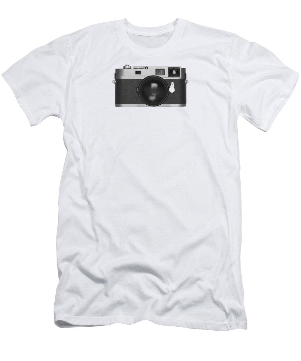 Analog Men's T-Shirt (Athletic Fit) featuring the photograph Rangefinder Camera by Setsiri Silapasuwanchai