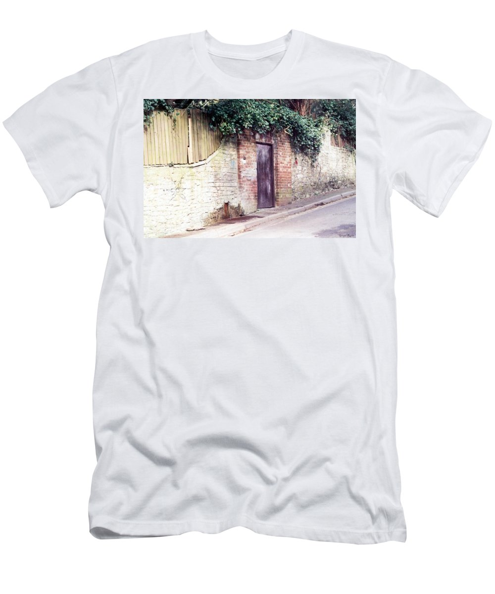 England Men's T-Shirt (Athletic Fit) featuring the photograph Red Spring by Ginger Repke
