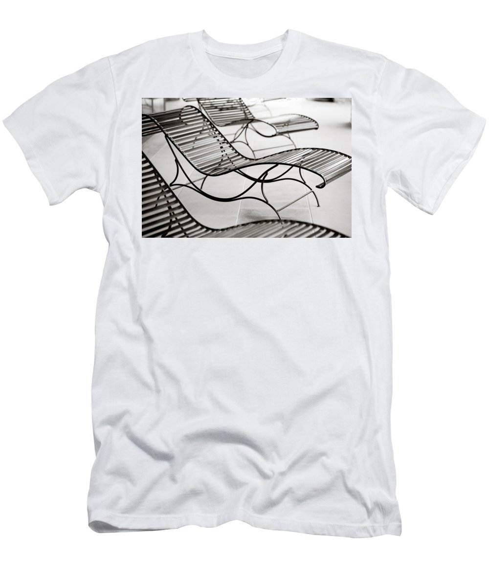 Chair T-Shirt featuring the photograph Relaxation by Marilyn Hunt