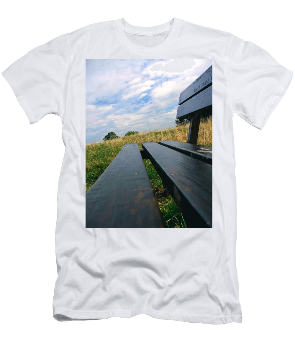 Sympathy Men's T-Shirt (Athletic Fit) featuring the photograph Remembrance by Heather Lennox
