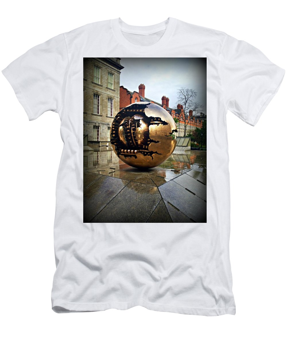 Art Men's T-Shirt (Athletic Fit) featuring the photograph Rips And Gears by Becki Kremer