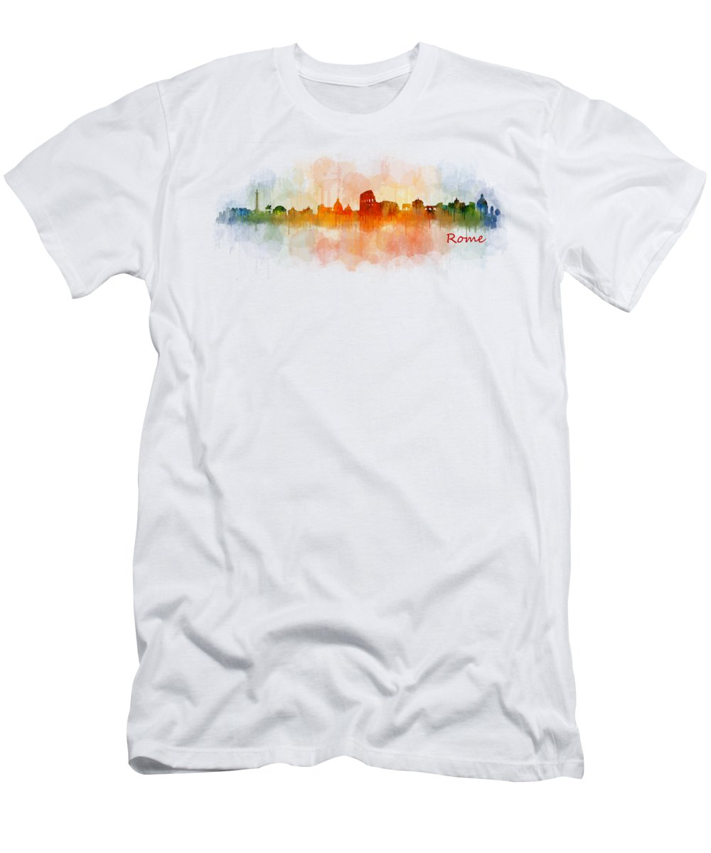 Italian Architecture Paintings T-Shirts