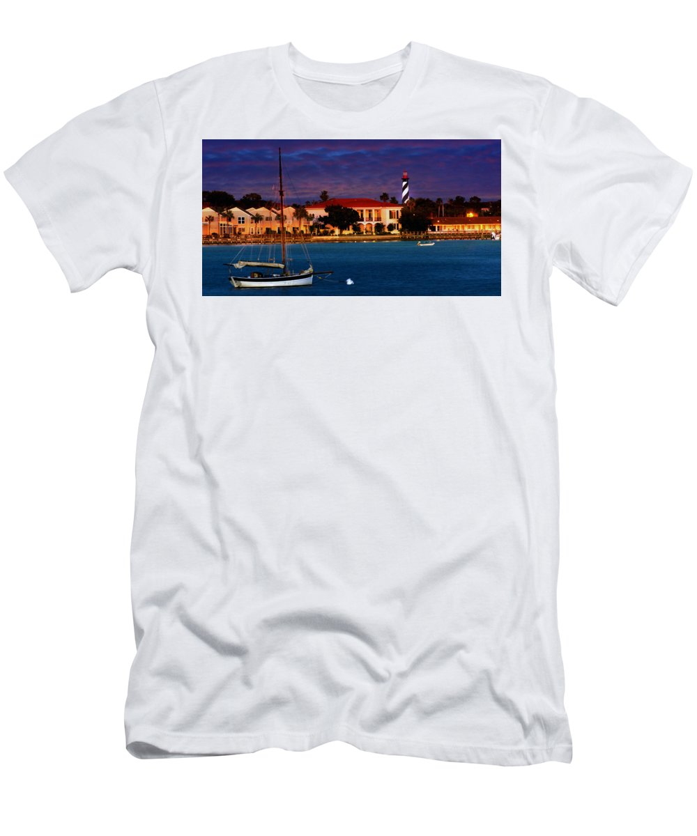 St. Augustine Men's T-Shirt (Athletic Fit) featuring the photograph Saint Augustine by Bill Howard