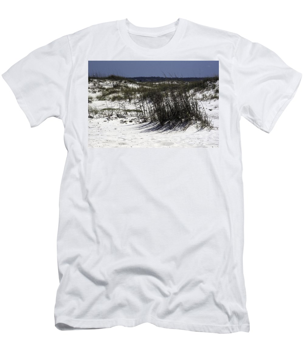 Sand Dune Men's T-Shirt (Athletic Fit) featuring the photograph Sand Dune by Kelly E Schultz