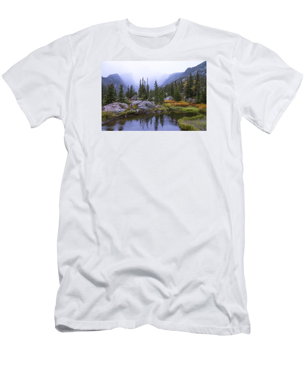 Saturated Forest T-Shirt featuring the photograph Saturated Forest by Chad Dutson