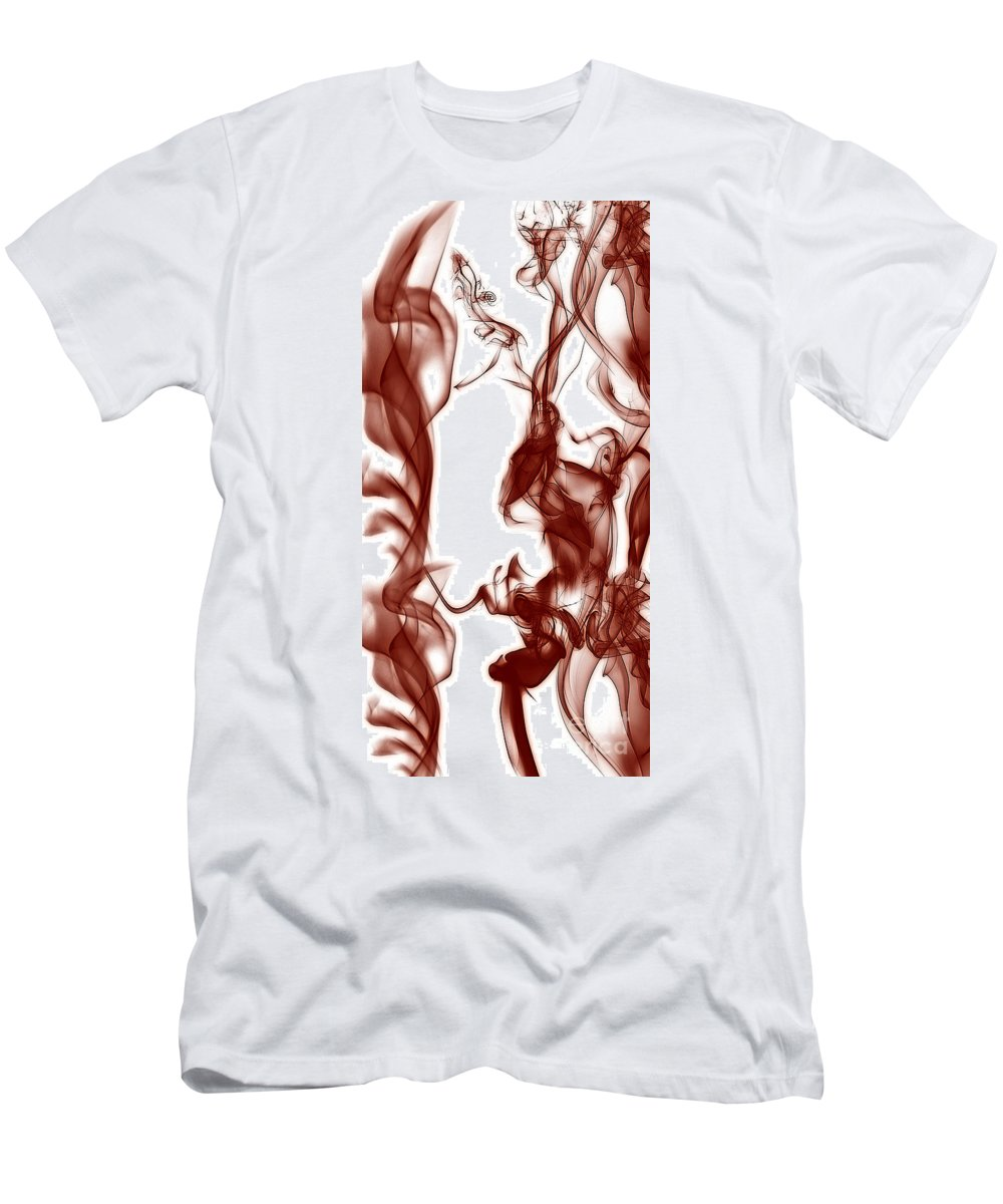 Clay Men's T-Shirt (Athletic Fit) featuring the digital art Schizophrenia by Clayton Bruster