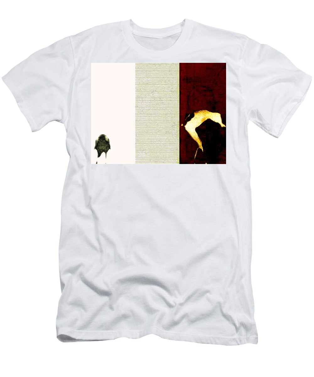Art Digital Art Men's T-Shirt (Athletic Fit) featuring the digital art Selling Day - A Trip To The Cattle Market by Alex Porter