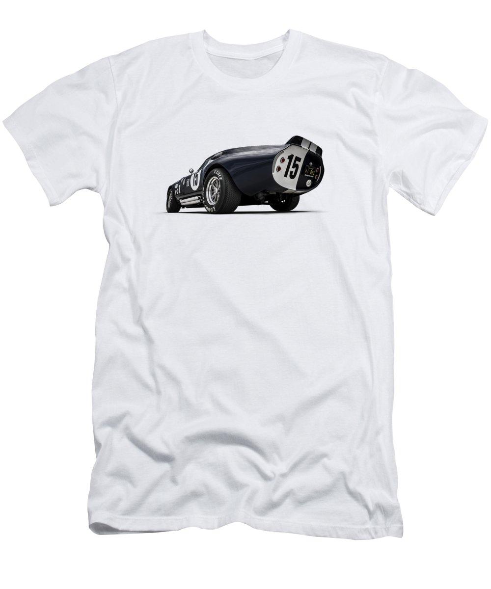 Shelby T-Shirt featuring the digital art Shelby Daytona by Douglas Pittman