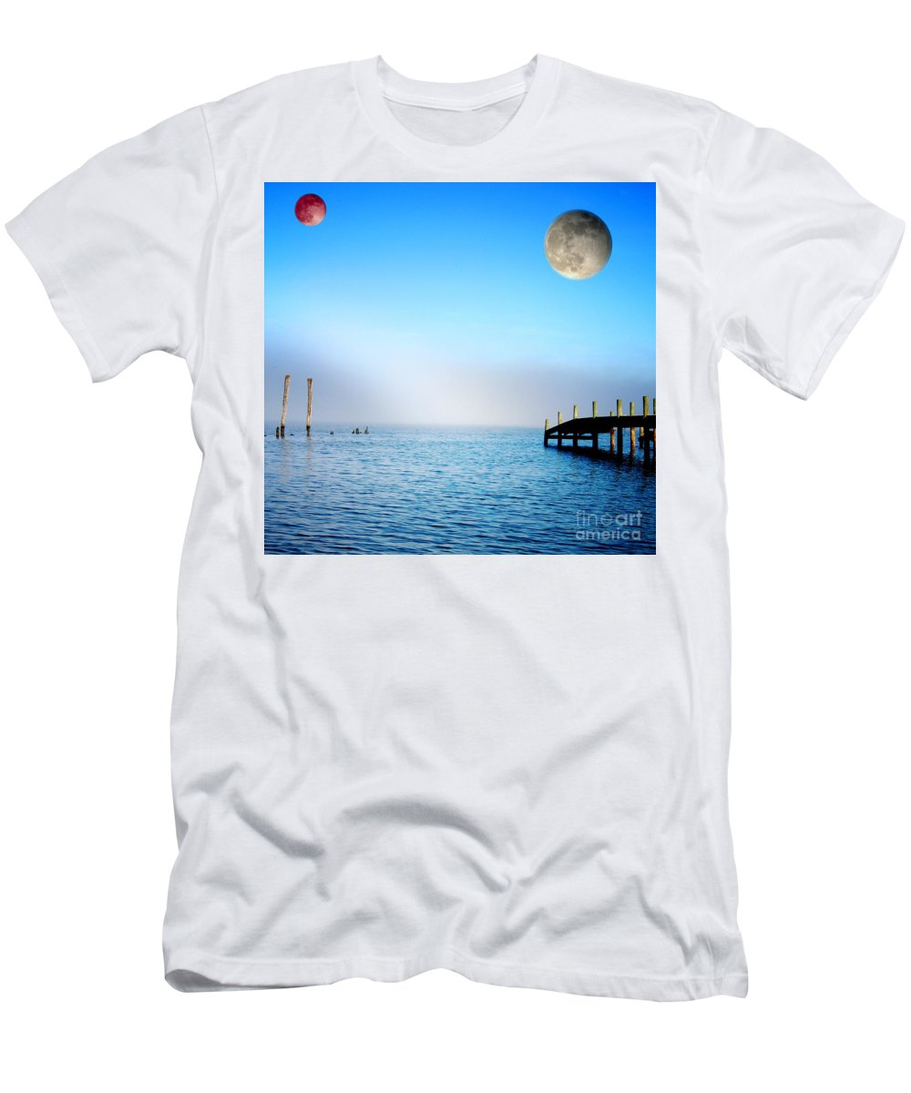 All Rights Reserved Men's T-Shirt (Athletic Fit) featuring the photograph Somewhere Far Away by Clayton Bruster
