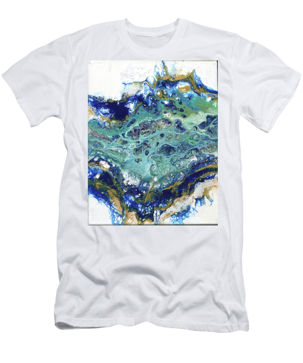 Men's T-Shirt (Athletic Fit) featuring the painting Soul Surge by Melissa Burke