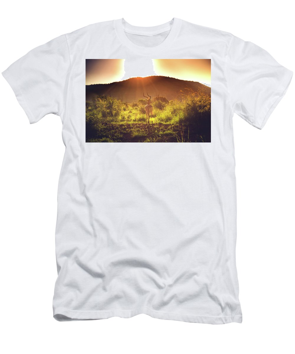 South Africa Men's T-Shirt (Athletic Fit) featuring the photograph South Africa At Its Finest by Chantelle Flores