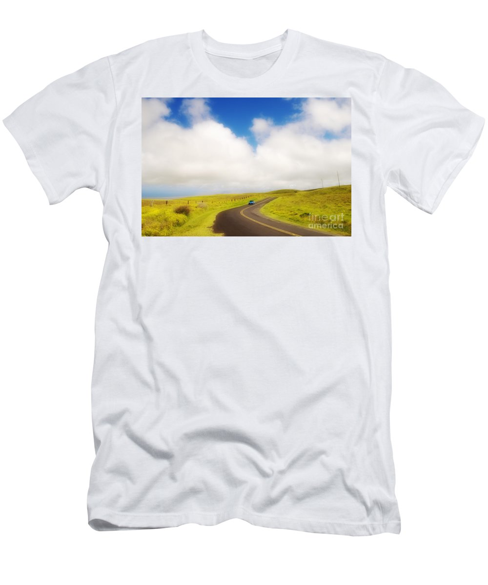 Afternoon Men's T-Shirt (Athletic Fit) featuring the photograph South Kohala by Greg Vaughn - Printscapes