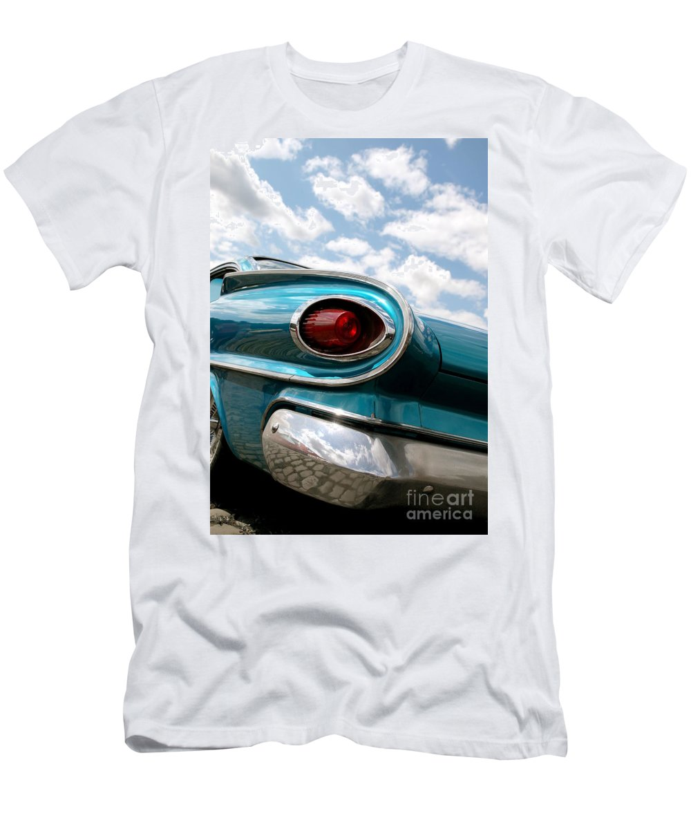 Rear Men's T-Shirt (Athletic Fit) featuring the photograph Speed by Beate Gube