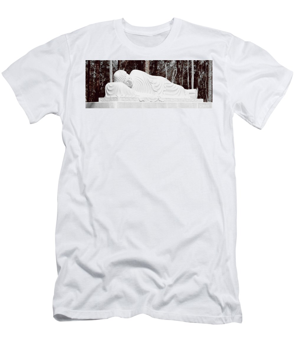 Shannon Men's T-Shirt (Athletic Fit) featuring the photograph Spiritual Rest by Shannon Sears