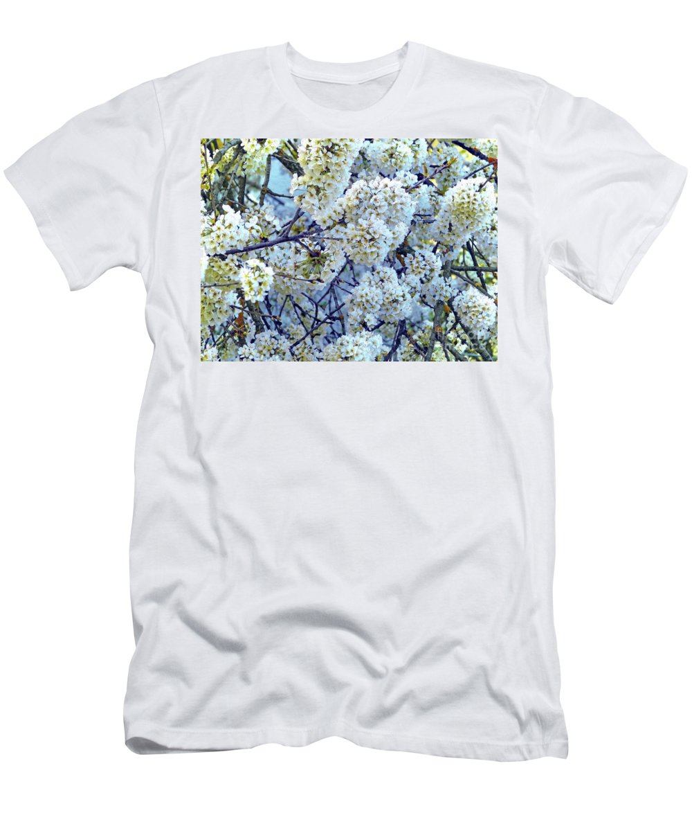 Floral Bouquet Men's T-Shirt (Athletic Fit) featuring the photograph Spring Around by Jasna Dragun