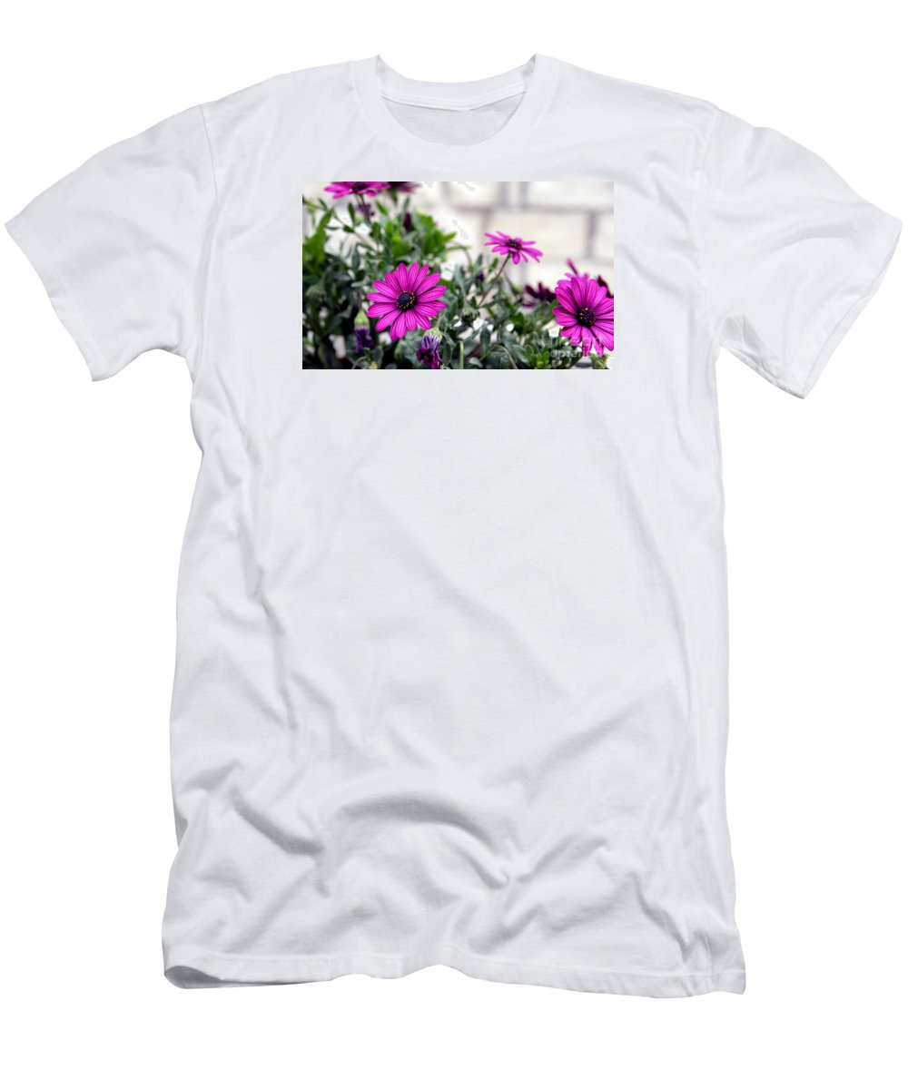 Spring Men's T-Shirt (Athletic Fit) featuring the photograph Spring Flowers 2 by Artur Gjino