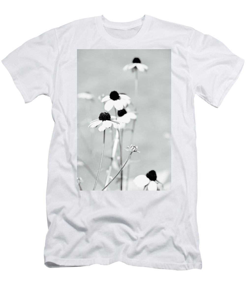 Wildflowers Men's T-Shirt (Athletic Fit) featuring the photograph Spring Flowers by Shelly John