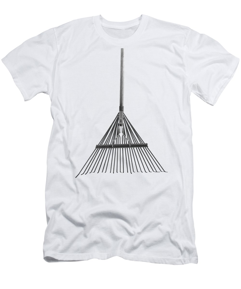 Minimal Men's T-Shirt (Athletic Fit) featuring the photograph Spring Rake by YoPedro