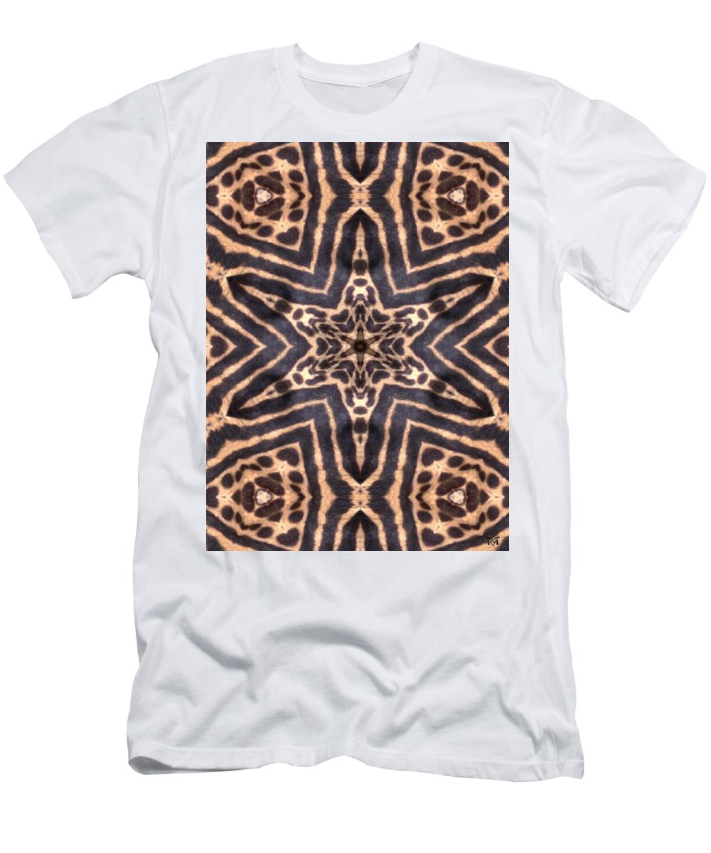 Digital Men's T-Shirt (Athletic Fit) featuring the Star Of Cheetah by Maria Watt