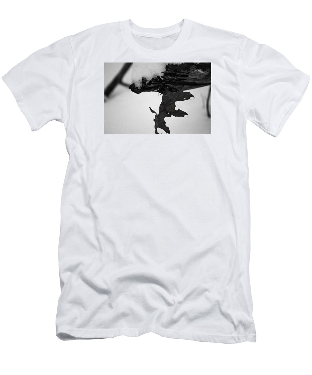 Bnw Men's T-Shirt (Athletic Fit) featuring the photograph Strength by Shelley Smith
