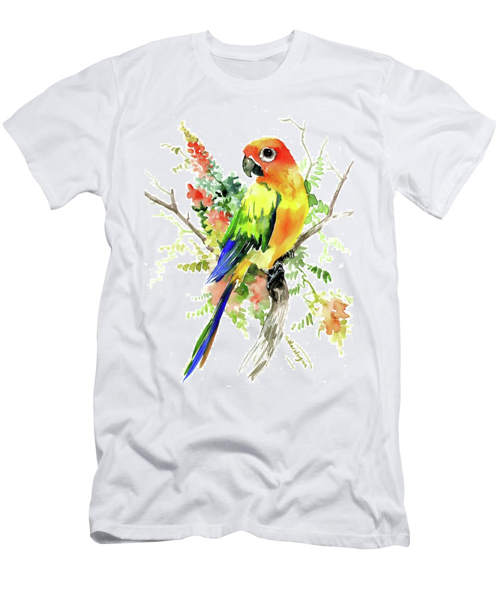 Sun Conure Parakeet T Shirt For Sale By Suren Nersisyan
