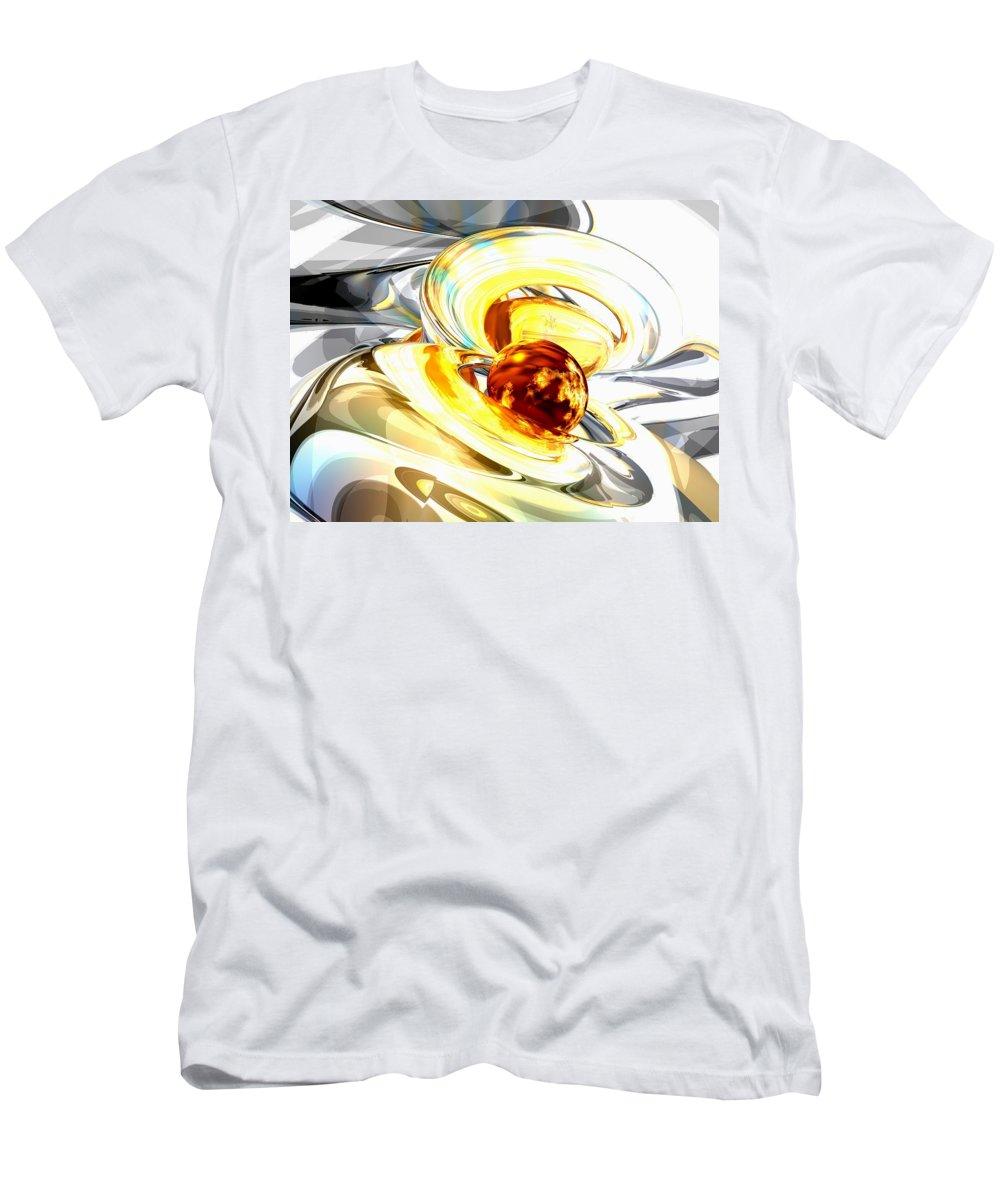 3d T-Shirt featuring the digital art Supernova Abstract by Alexander Butler