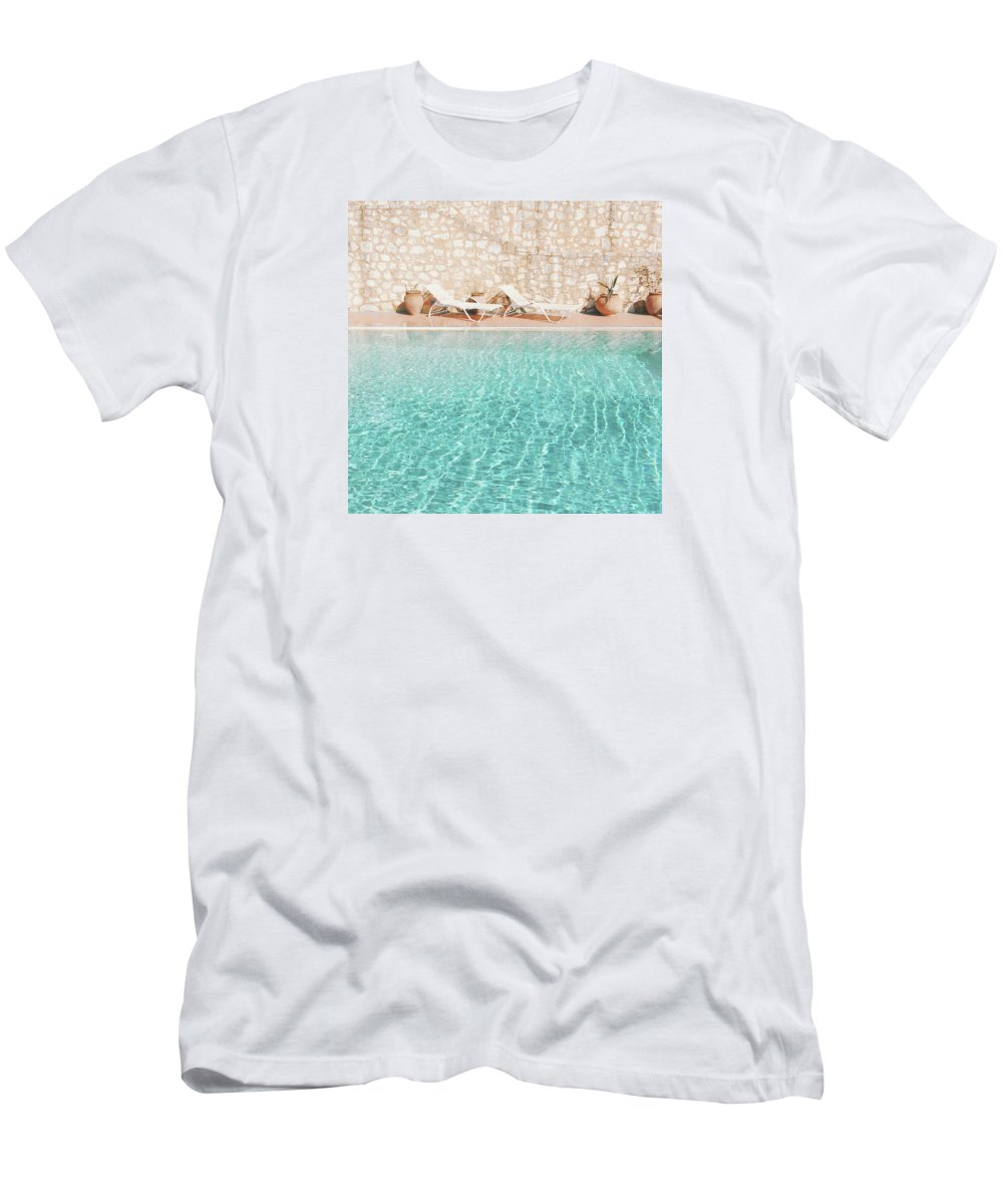 Water T-Shirt featuring the photograph Swimming Pool V by Cassia Beck