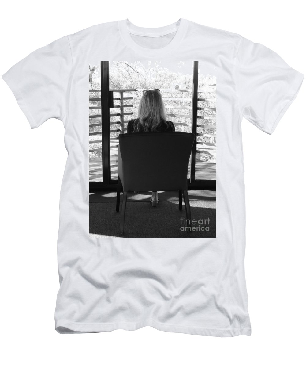 Love Men's T-Shirt (Athletic Fit) featuring the photograph Talking To God by Traci Hallstrom