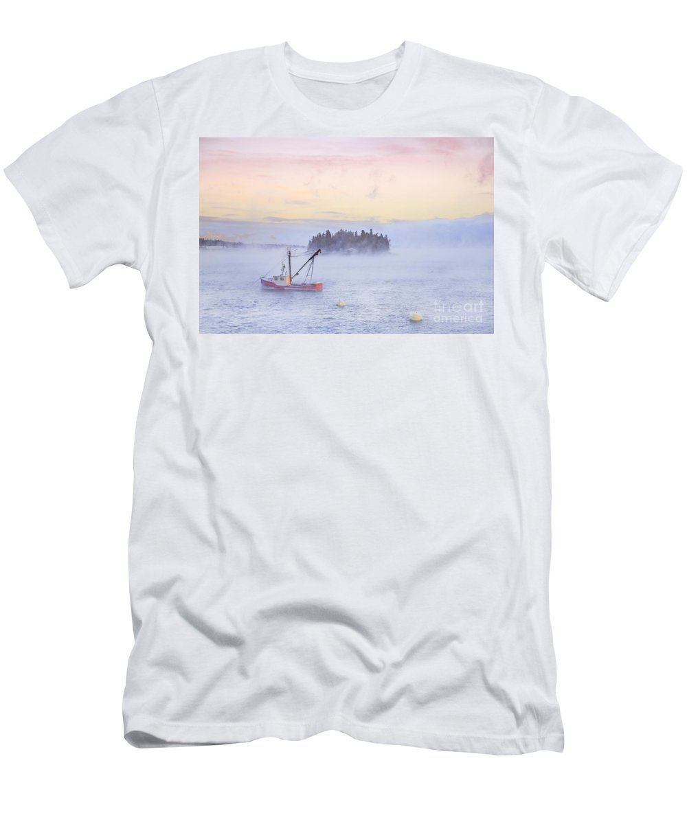 Kremsdorf Men's T-Shirt (Athletic Fit) featuring the photograph Taste Of Dawn by Evelina Kremsdorf
