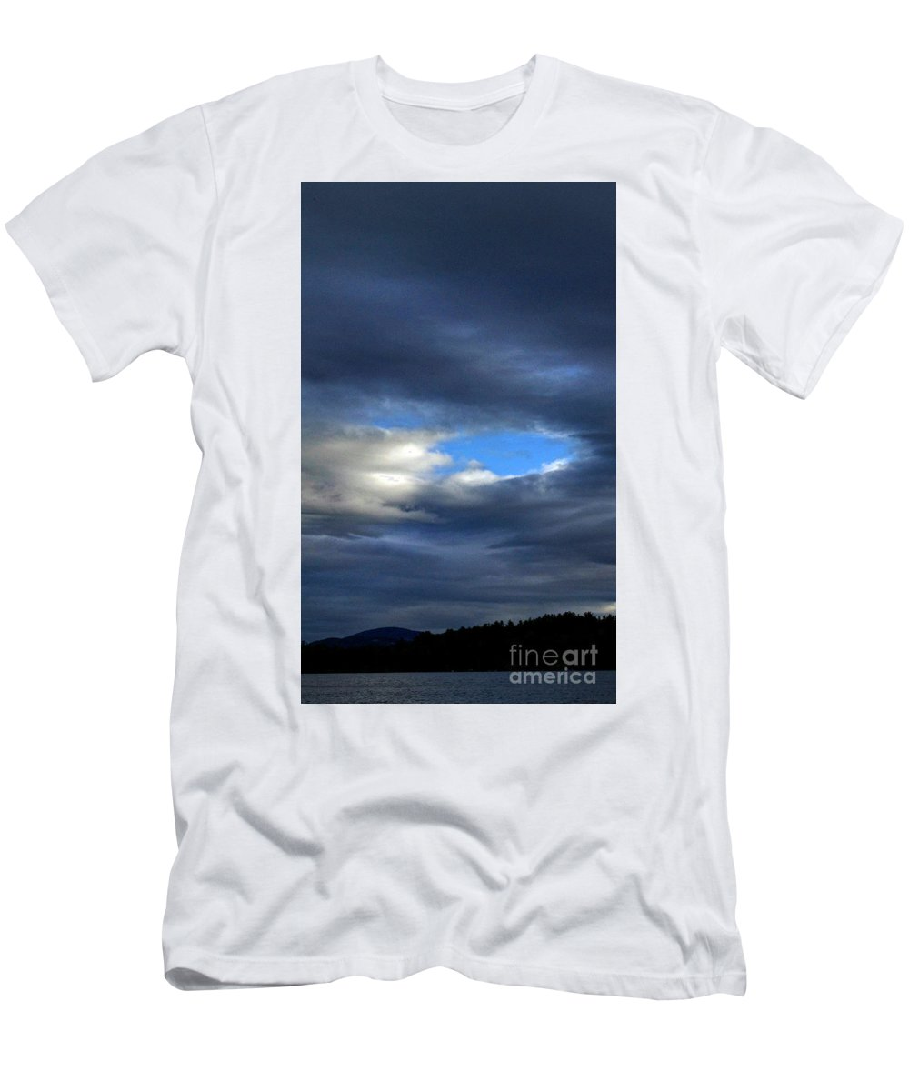 Nature Men's T-Shirt (Athletic Fit) featuring the photograph Temporary by Skip Willits