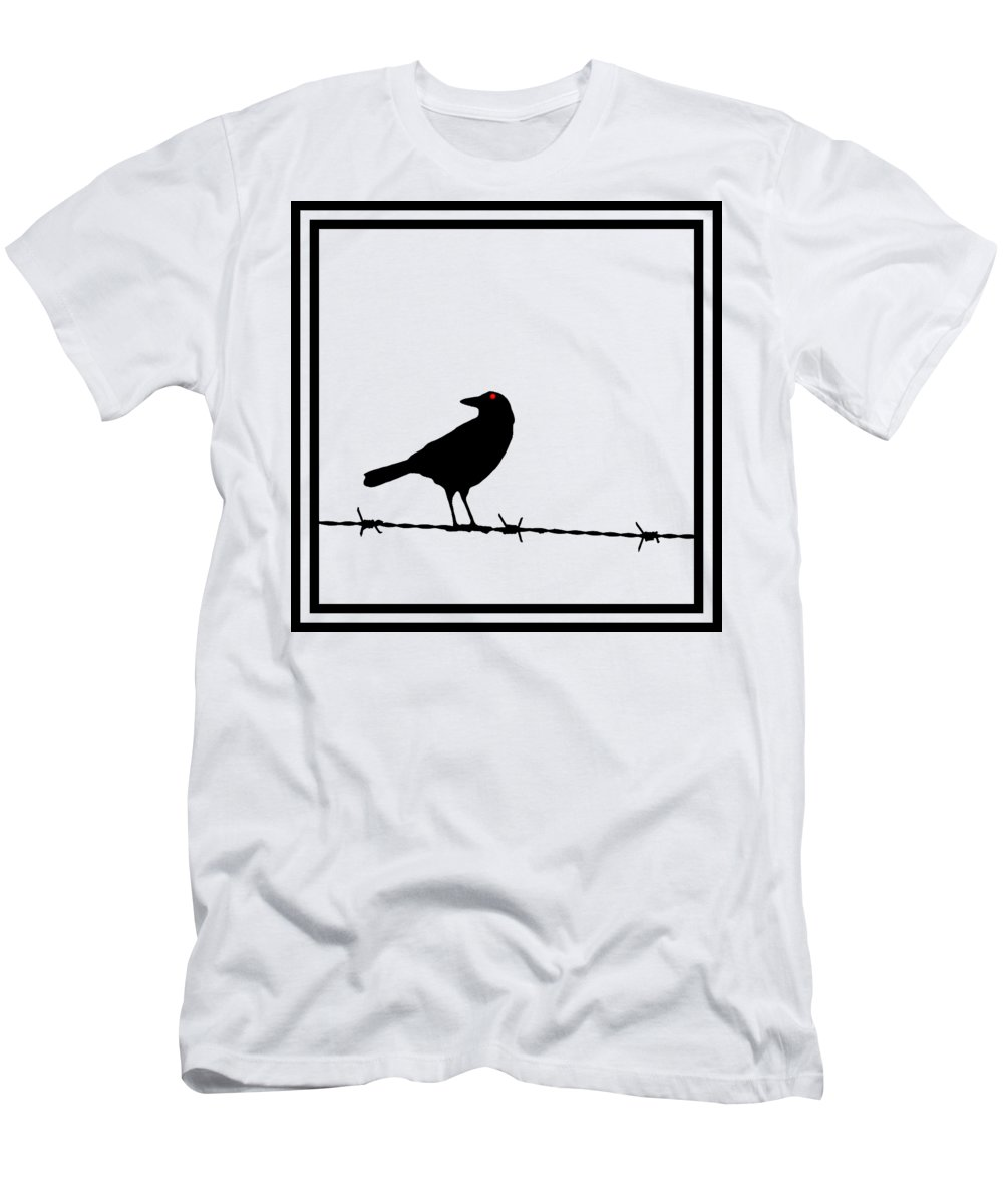 Barbed Wire Fence T-Shirts