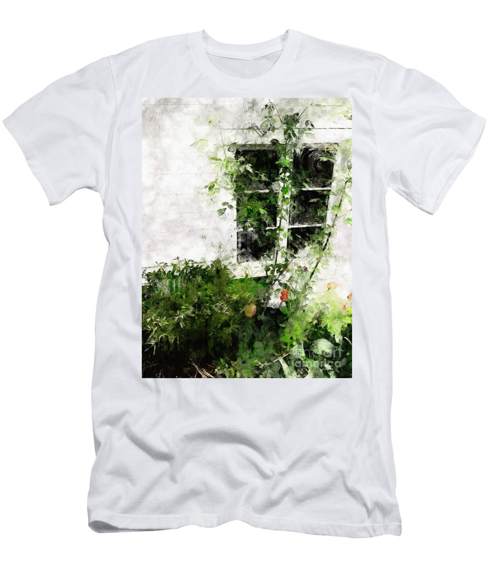 Window T-Shirt featuring the photograph The Climb by Claire Bull