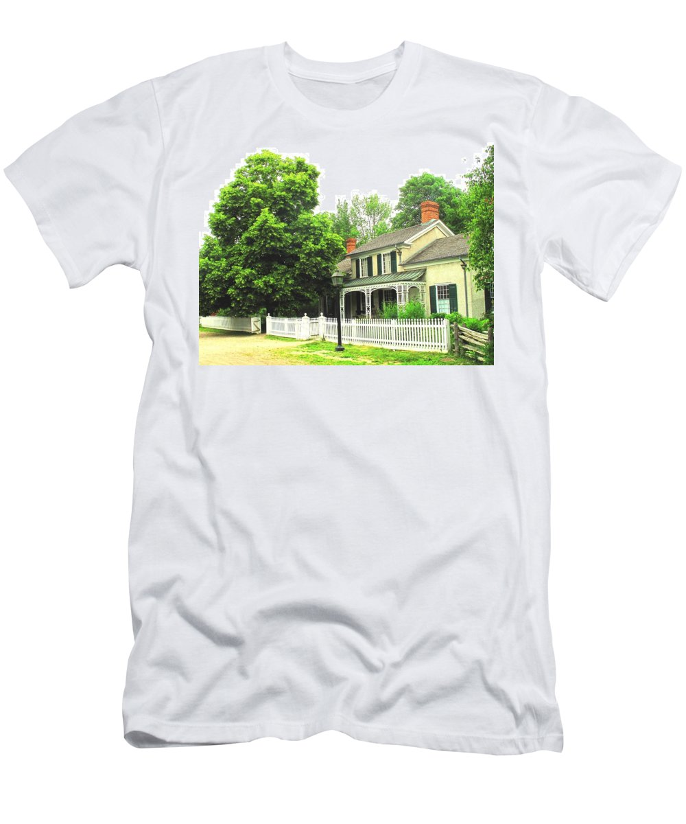 Doctor Men's T-Shirt (Athletic Fit) featuring the photograph The Doctors House by Ian MacDonald