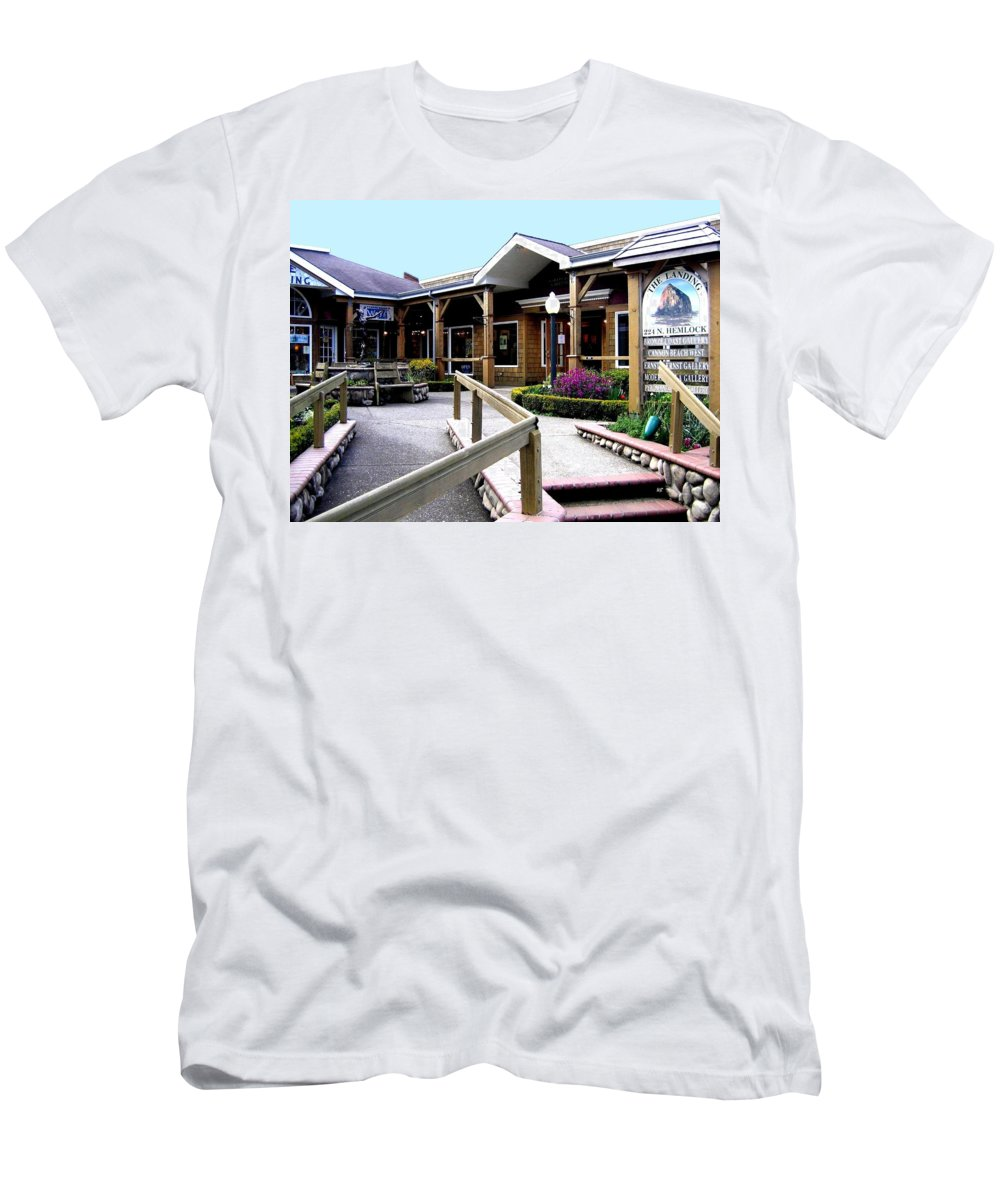 The Landing Men's T-Shirt (Athletic Fit) featuring the photograph The Landing by Will Borden
