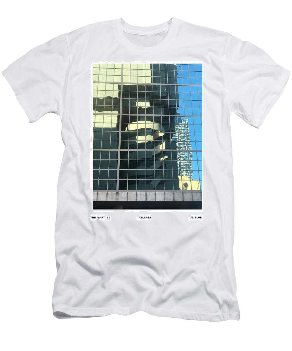 Atlanta's Gift Mart Men's T-Shirt (Athletic Fit) featuring the photograph The Mart # 3 by Al Blue