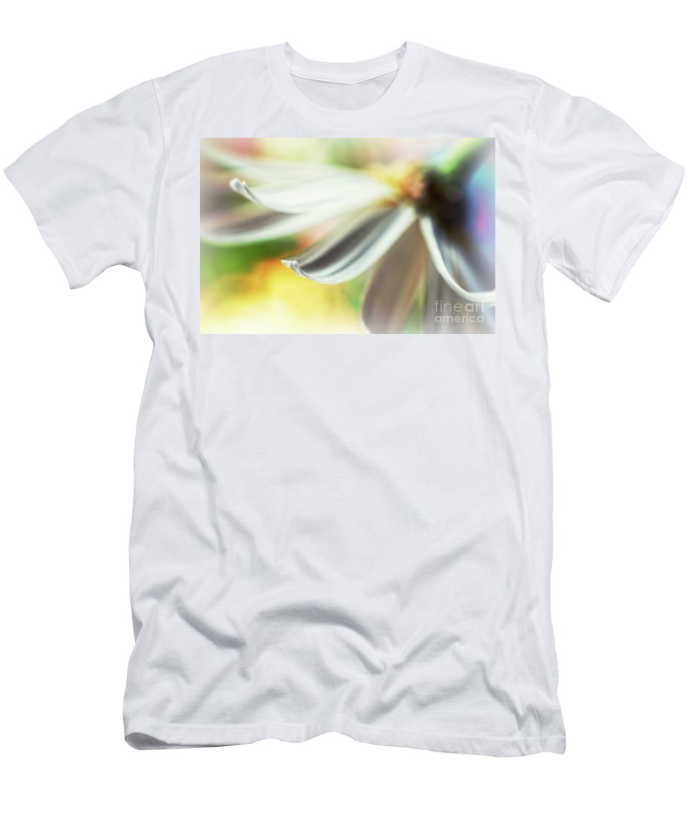 Petal Men's T-Shirt (Athletic Fit) featuring the photograph The Petal II by Silvia Ganora