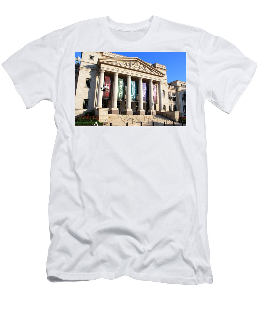 Nashville Men's T-Shirt (Athletic Fit) featuring the photograph The Schermerhorn Symphony Center by Susanne Van Hulst