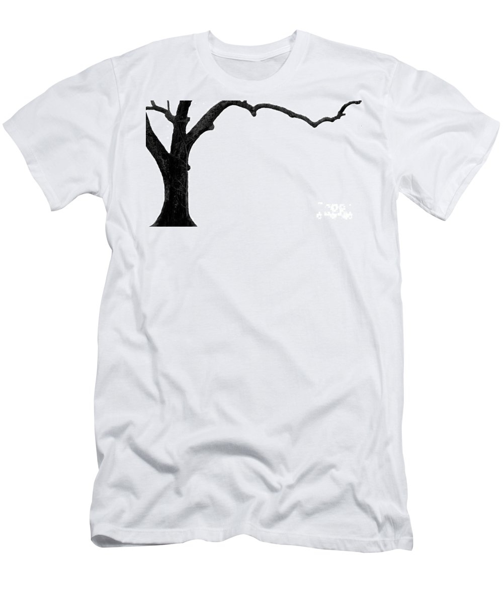 Tree Men's T-Shirt (Athletic Fit) featuring the photograph The Tree by Amanda Barcon
