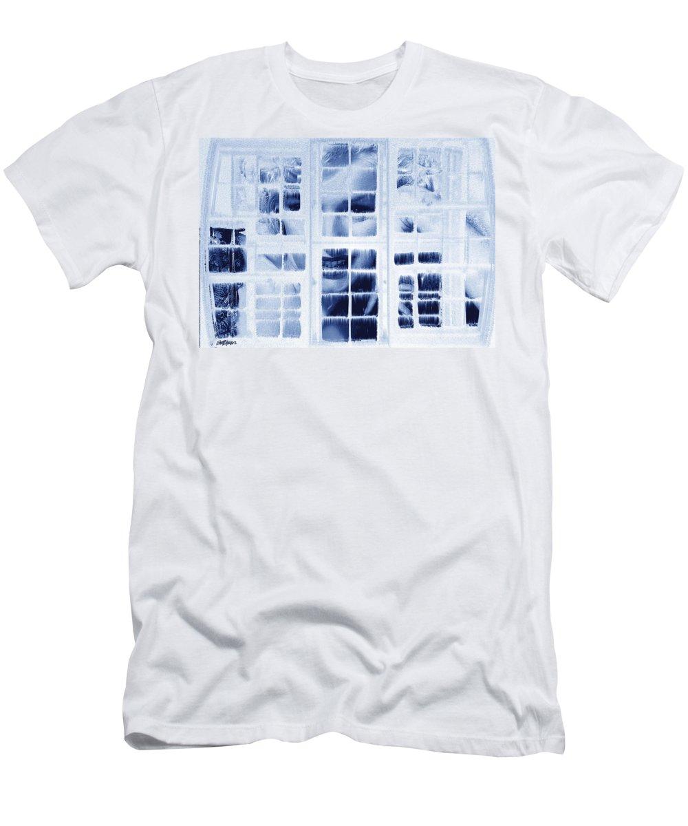 Marilyn Monroe Men's T-Shirt (Athletic Fit) featuring the digital art The Voyeur by Seth Weaver