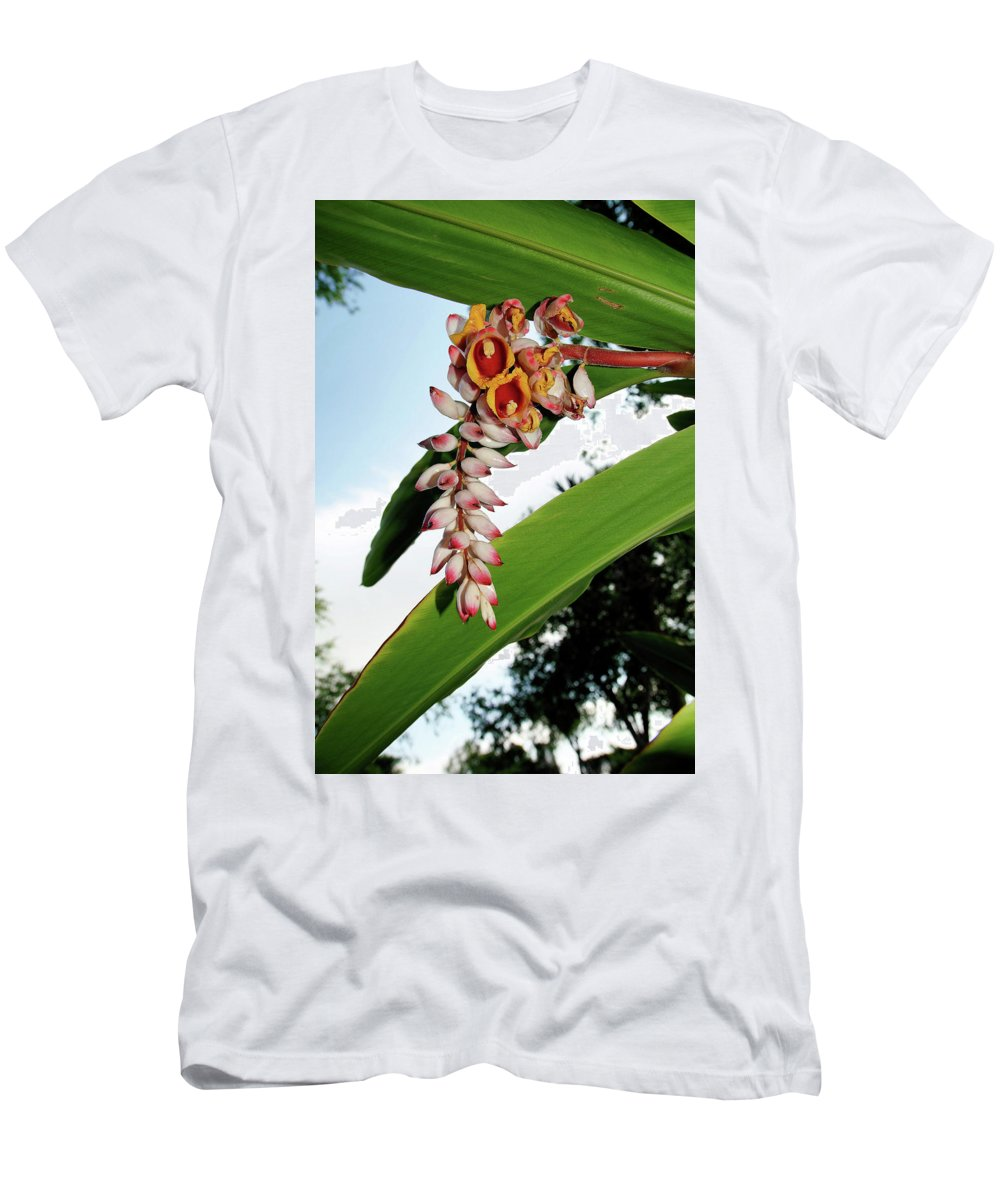 Flora Men's T-Shirt (Athletic Fit) featuring the photograph The Whole Ginger by Marshall Barth